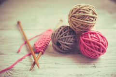 Yarn Stock Photo