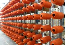 Yarn bobbin stock photo