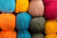 The yarn stock image