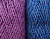 Yarn bundles Royalty Free Stock Photo