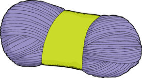 Yarn Cartoon Stock Photo