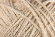 Yarn clew macro Royalty Free Stock Image