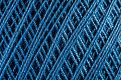 Yarn close up Royalty Free Stock Images