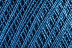Yarn close up Royalty Free Stock Images