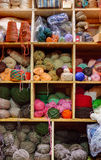Yarn Closet Stock Photography