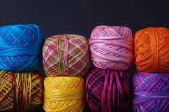 Yarn Coils Royalty Free Stock Image