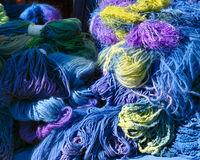 Yarn collection Royalty Free Stock Images