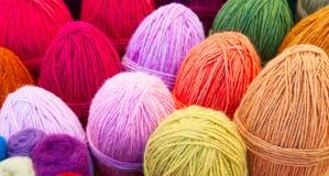 Yarn. Colorful yarn ready for knitting royalty free stock photo
