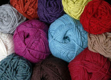 Yarn Colors Royalty Free Stock Images
