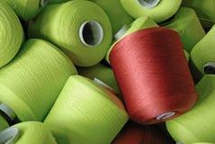 Yarn Cones Stock Image