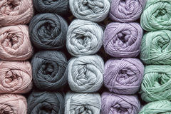Yarn in cotton Royalty Free Stock Images