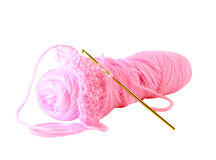 Yarn and crochet Stock Photo