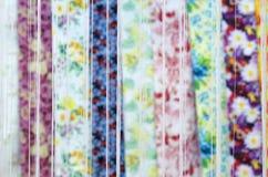 Yarn and fabric Stock Photo