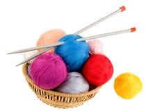 Yarn For Knitting Royalty Free Stock Photo