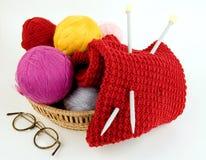 Yarn For Knitting Stock Photo