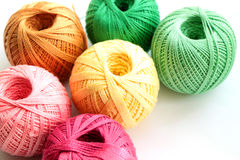 Yarn for handcraft Stock Image