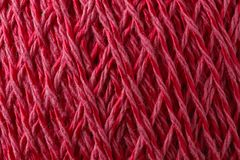 Yarn for handwork and knitting. The thread is photographed close-up Stock Photography