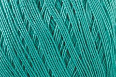 Yarn for handwork and knitting. The thread is photographed close-up Royalty Free Stock Photography