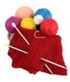 Yarn for knitting stock photos