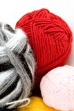 Yarn for knitting Stock Photo