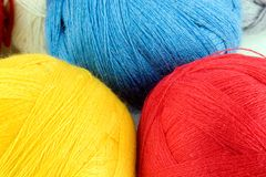 Yarn for knitting Stock Photography