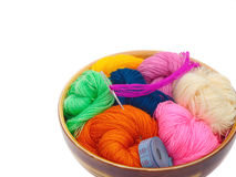 Yarn for knitting Royalty Free Stock Photography