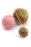 Yarn macro Stock Images