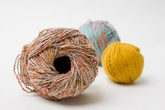 Yarn pile Royalty Free Stock Photo