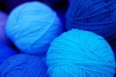 Yarn rolls Stock Image