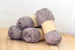Yarn rolls Royalty Free Stock Photos