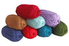 Yarn Skeins Royalty Free Stock Photo