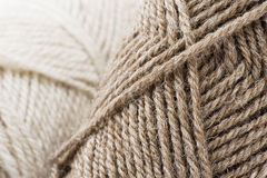Yarn skeins Stock Photo
