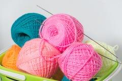 Yarn spokes Stock Image