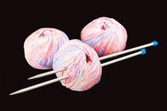 Yarn with spokes Stock Photos