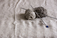 Yarn with spokes Royalty Free Stock Photography