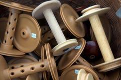 Yarn Spools Stock Image