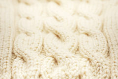 Yarn texture photo Royalty Free Stock Images