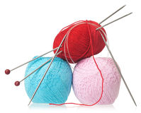 Yarn threads Royalty Free Stock Images