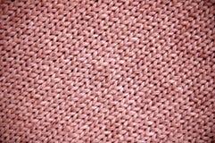 Yarn weave. Texture of yarn weave fabric stock photography