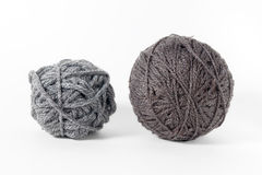 Yarn of wool isolated on white background Royalty Free Stock Photography