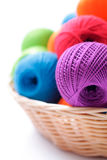Yarns for knitting Royalty Free Stock Images