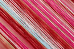 Yarns for woven fabrics. Royalty Free Stock Photography
