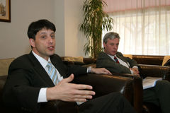 Yaron Ashkenazi. General manager of Centre Ville Apart Hotel Bucharest Stock Photography