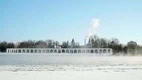 Yaroslav庭院在Veliky诺夫哥罗德,俄罗斯 股票录像