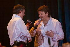 Yaroslav Nudyk and Andriy Kapral, Pikkardiyska Ter Stock Photos