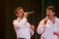 Yaroslav Nudyk och Andriy Kapral, Pikkardiyska Ter Arkivbild