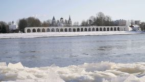 Yaroslav podwórze w Veliky Novgorod, Rosja zdjęcie wideo