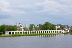 Yaroslav's Court Royalty Free Stock Photo