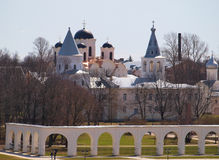 Yaroslav's Court Royalty Free Stock Photos