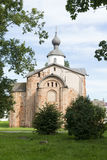 Yaroslav`s court, a medieval Orthodox churches, the Church of St royalty free stock image